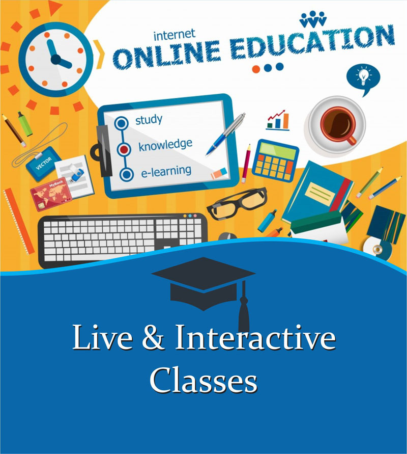 Live and Interactive Classes