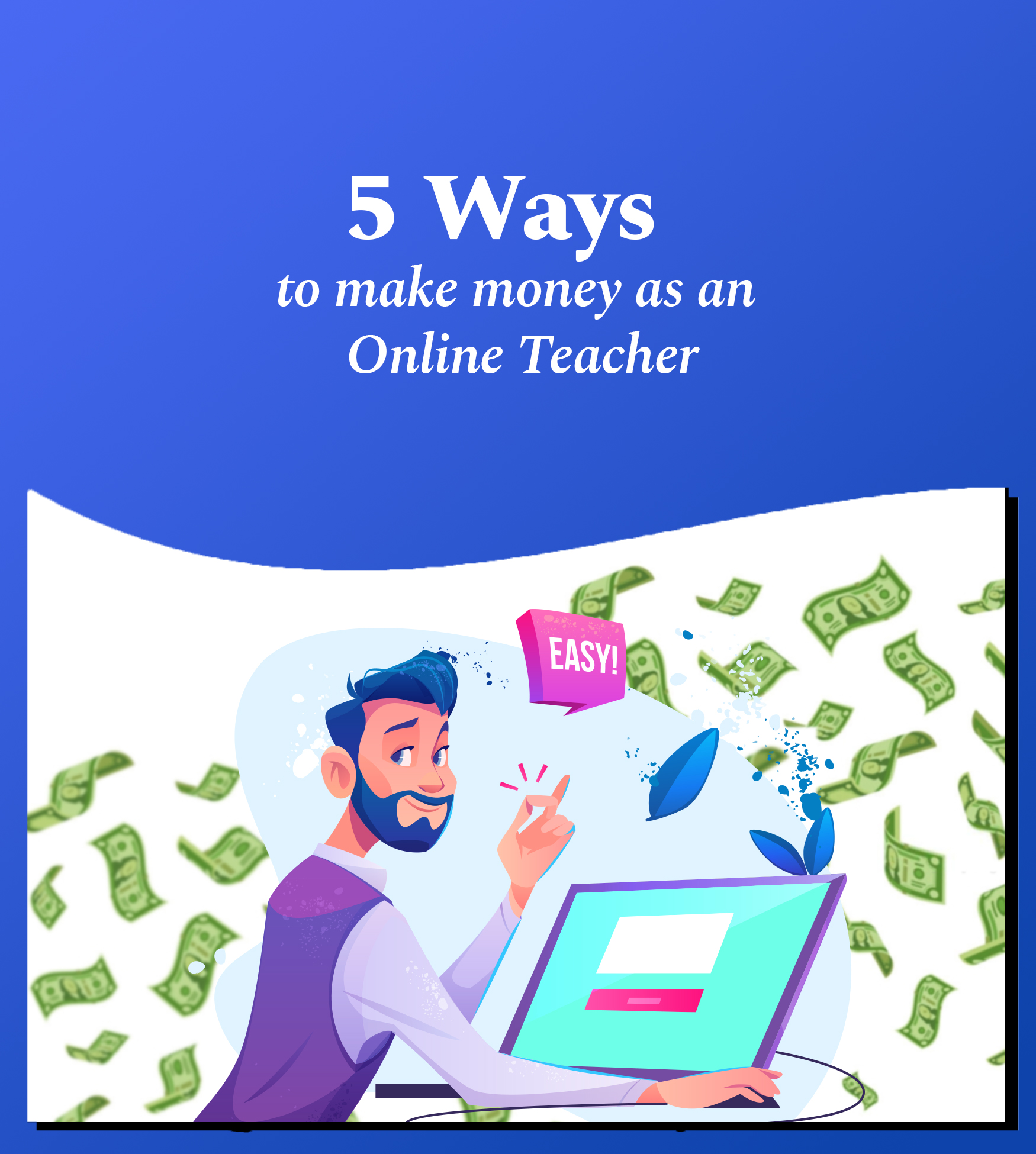 5 ways to make money as an online teacher 1